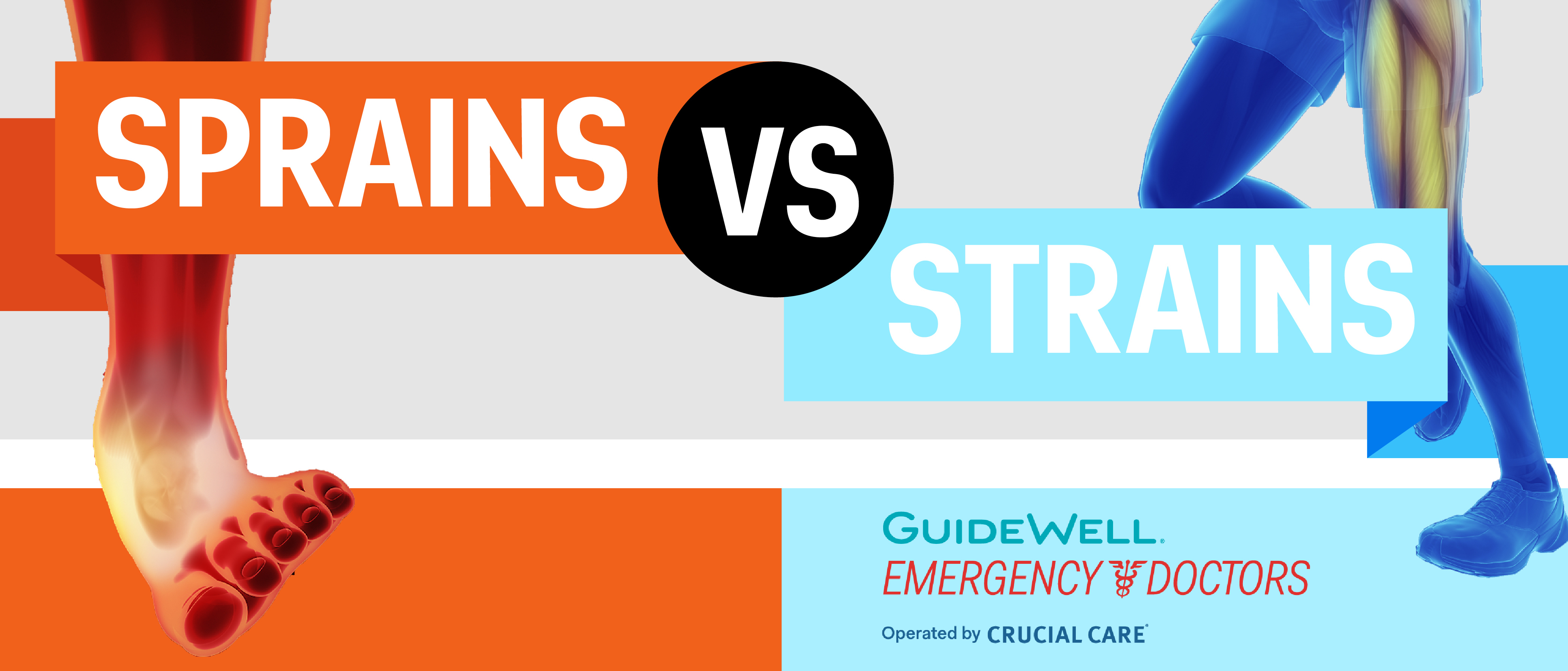 GuideWell Emergency Doctor treats sprains